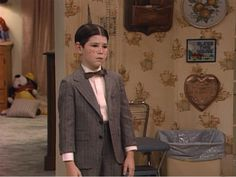 D.J. Conner may not know what his costume is but we know he makes for a very convincing Alfalfa! Little Rascals costumes like this are timeless, just like the Roseanne Halloween episodes, every year on TV Land.