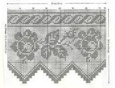 Bildergebnis für filethäkeln gardinen vorlagen
