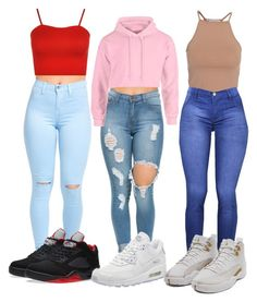 Designer Clothes, Shoes & Bags for Women Boujee Outfits, Baddie Outfits Casual, Cute Lazy Outfits, Swag Outfits For Girls, Teenage Girl Outfits, Cute Swag Outfits, Girls Fashion Clothes, Teenager Outfits, Teen Fashion Outfits