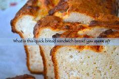 Quick {Sandwich} Bread - Gluten-Free on a Shoestring.