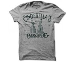 Cinderella's Boxing Tee