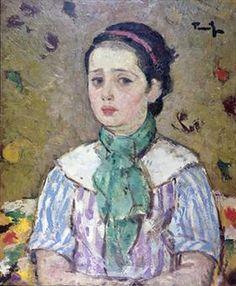 unknown title - Nicolae Tonitza Fauvism, Post Impressionism, Art Database, Beautiful Paintings, Van Gogh, Art Pieces, Fine Art, Drawings, Artwork