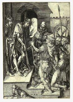 SchongauerEcceHomo - Martin Schongauer – Wikipédia, a enciclopédia livre