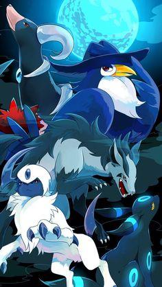 Creatures of the night Pokemon