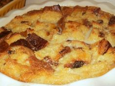 Pineapple Bread Pudding, Would make a great Easter Dessert.