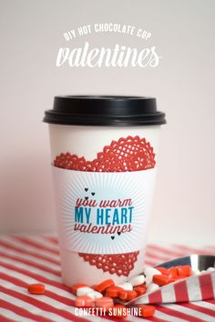 You Warm My Heart Valentines free printable - Confetti Sunshine
