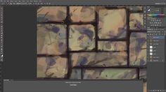 Hand Painting Textures: Floor