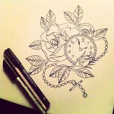 New tattoo idea! Clock would be on 11:11