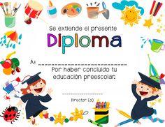Educación Preescolar: 7 Diplomas para culminación de estudios preescolares.