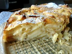Apple Sharlotka (Russian Apple Cake)