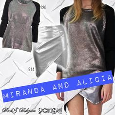 Make a fashion statement with ALICIA and MIRANDA, these metallic must haves are both available at @spoiledbratuk where they are on #SALE! Don't miss out!  http://www.spoiledbrat.co.uk/rock-religion-m737