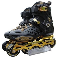 Aliexpress.com : Buy New Adult Professional Inline Skates Roller Skating Shoes Unisex Durable Slalom/Braking/FSK Hockey Patines Rollerblading from Reliable shoe mobile suppliers on bree's happy world