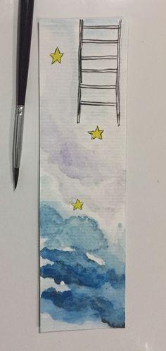 Rumo as estrelas - aquarela Eune
