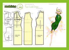 Modelagem two look dress. Fonte: https://www.facebook.com/photo.php?fbid=559332577435985=a.426468314055746.87238.422942631074981=1