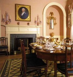 Neo-Classical Style Dining Room