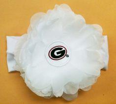 UGA Georgia Bulldogs Infant headband...Maren needs this @Lindsay Dillon McGill