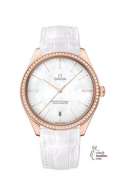 The @omegawatches De Ville Trésor Ladies watch.  More info @ http://www.watch-insider.com/fun/24-12-christmas-2015-so-24-is-the-magic-number-a-selection-of-24-wristwatches-you-may-like/ #omega #watcht