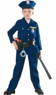 Pequedisfraces 2012: Disfraz de Policía y Cenicienta Reversible
