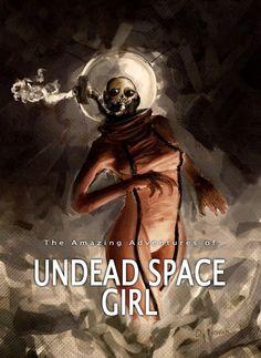 Mercenary: Undead Space Girl #UndeadSpaceGirl #Mercenary #MercenaryGarage