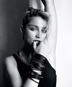 Link Time: Early Madonna Photos Published For the Very First Time