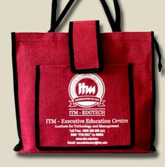 Promotional Jute Bag for Students of ITM (Institute for Technology & Management)