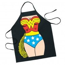 My kids and I call my wife Wonder Woman because of all that she does for our family.  I would love to get her this apron for the kitchen.  It would suit her perfectly and make her feel special.