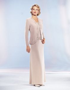 Sleeveless long ivory satin strapless A-line embroidery Mother Of The Bride Dress MBD1022239