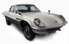 1967 - Mazda Cosmo Sport - The world's first mass-produced model with a dual-rotary engine.