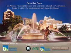 Join hundreds of educators, including K-12 teachers, college and university professors and Federal Reserve partners, at the Council for Economic Education's Financial Literacy and Economic Education Conference October 5-6 in Kansas City. Learn more & register: http://www.councilforeconed.org/events/cee-national-conference/