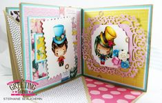 Dream Mini-Album : The Greeting Farm – Clear Stamps, Rubber Stamps, Cardmaking USA