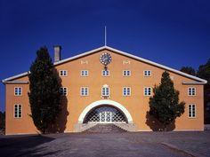 Listers härads tingshus (county courthouse), Sölvesborg, Sweden1919-21, by Gunnar Asplund
