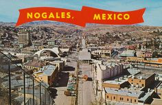 Nogales, Mexico. Fun little town with lots of souvenir trinkets and beautiful silver work as well. It was safe when we went there but I wouldn't go now.