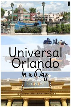Universal Studios Orlando tips if you only have one day to spend there.See Islands of Adventure and Universal Orlando all in one day!