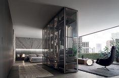 Rimadesio Cover freestanding modular unit Rimadesio Sail and Long Island Table #rimadesio #interiordesign #interieurarchitectuur #architectenweb #rimadesio #interieurarchitect #italiandesign #designporn #interieurdesign