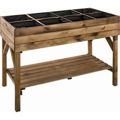 Vegetable Beds from the Garden Style Company Wood Planter Box, Raised Planter, Raised Garden Beds, Raised Beds, Vegetable Bed, Home Vegetable Garden, Potager Palettes, Plant Table, Garden Landscape Design