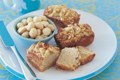 Give your banana bread a crunchy twist with macadamias.