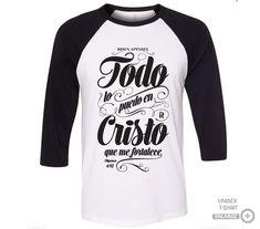 Christian Clothing, Christian Shirts, T Shart, Custom T Shirt Printing, Shirts With Sayings, Shirt Designs, Mens Fashion, Lettering, Mens Tops