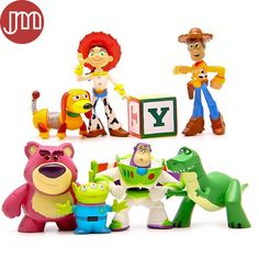 Find More Action & Toy Figures Information about New 8Pcs Toy Story 3 Buzz…