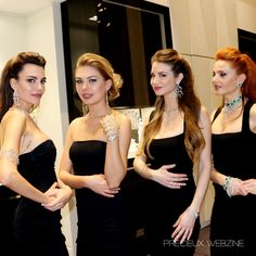 The jacob girls sparkle at #Baselworld  #Highjewelry #Precieuxwebzine #Diamonds #Jacobandco