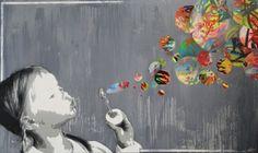 "Saatchi Online Artist: KURAR artist; Paint 2013 Painting ""Painting game"""