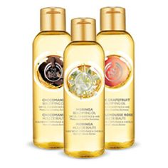 The Body Shop Beautifying Oils
