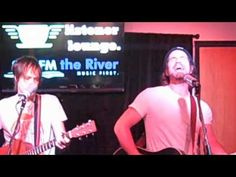 "Matt Nathanson backstage live radio session, KRVB ""The River"""