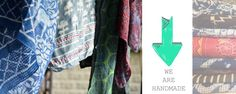 Gorrrrrgeous hand-dyed scarves from NY-based Ichcha.