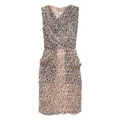 I don't like animal print but I LOVE this dress!