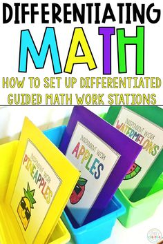 Learn how to set up your guided math at your seat rotation with these independent math activities. Find ideas for differentiating math lesson work. These troubleshooting tips for M.A.T.H workshop will help you with differentiated math instruction. Use these ideas to help with classroom management during math centers and small groups. These tips and tricks are great for kindergarten, 1st grade (first grade), 2nd grade, 3rd grade, and all elementary teachers!