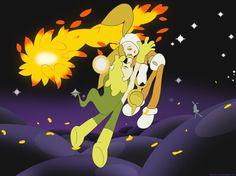 Illustration of the animation Kaiba by Yuasa Masaaki.