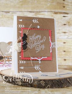 The Sealed with Love stamp set is perfect to create your favorite Valentine or a simple love note.