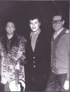 Feb. 2, 1959. Buddy Holly, Richie Valens and The Big Bopper give their final performance at a show in Clear Lake, Iowa. All three are killed in a plane crash the next day.