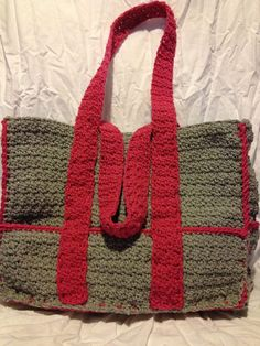 Shop for on Etsy, the place to express your creativity through the buying and selling of handmade and vintage goods. Crochet Purses, Crochet Bags, Crochet Ideas, Crochet Diaper Bag, Baby Bags, Straw Bag, Purses And Bags, Stitches, Baskets