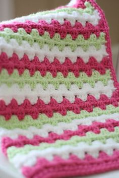 Granny Stripe Close